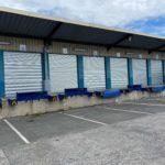 Installation de rideaux de quai sur Villeneuve d'Ascq vue extérieur